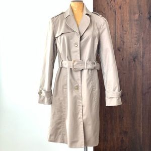 KENNETH COLE REACTION Trench Coat Size L